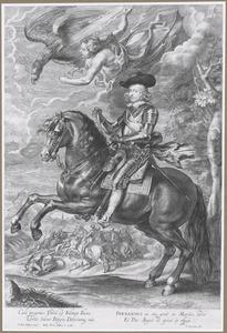 Ruiterportret van Ferdinand van Oostenrijk, kardinaal-infant van Spanje (1609-1641)