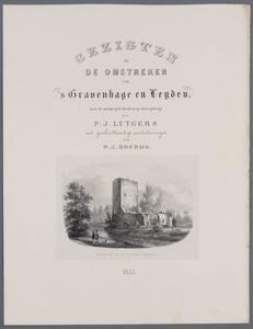 Gezichten van het landschap en buitenplaatsen rond 's Gravenhage en Leiden