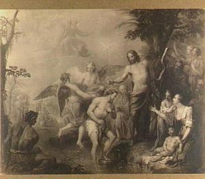 De doop van Christus door Johannes de Doper