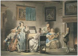 Muzicerend gezelschap