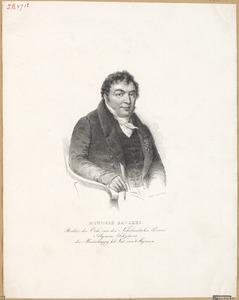 Portret van Hendrik Ravekes (1786-1841)