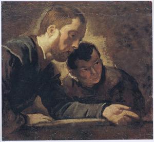 Studie van twee mannen
