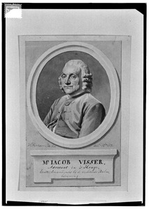 Portret van Jacob Visser (1724-1804)