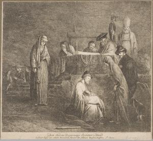 De opdracht in de tempel, Simeon zingt de hymne ´Nunc Dimittis´