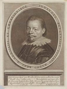 Portret van Johannes Rutgersius (1589-1625)