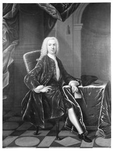 Portret van Frans Verschoor (1705-1752)