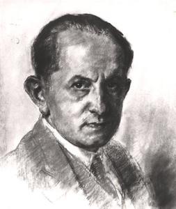Portret van Rudolf Mengelberg (1892-1959)