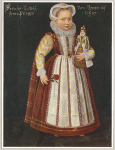 Portret van Louise Juliana van Oranje-Nassau (1576-1644)