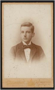 Portret van Alexander Christiaan de Beaufort (1882- )
