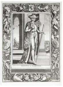 Portret van Philips 'de Goede' van Bourgondie (1396-1467)