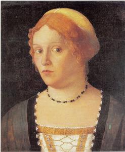 Portret van een Venetiaanse vrouw