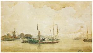 Grijs en groen-Dordrecht