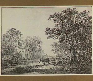 Landgoed bij IJzendoorn (Kesteren) in de Betuwe