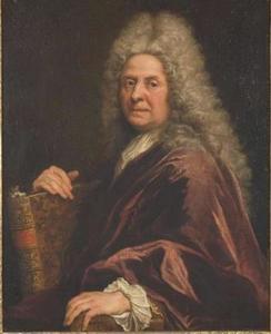 Zelfportret van Antoine Coypel, Ecuyer Premier Peintre du Roy  (1661-1722)