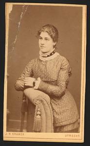 Portret van Georgette Melville Gertrude Capadose (1860- )