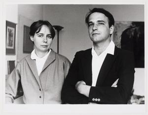 Portret van Willem Oorebeek en Anneke