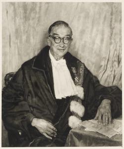 Portret van Barend Coenraad Petrus Jansen (1884-1962)