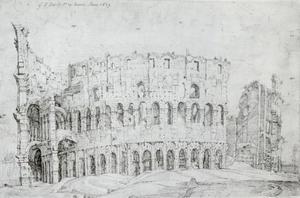 Ruïnes van het Colosseum in Rome