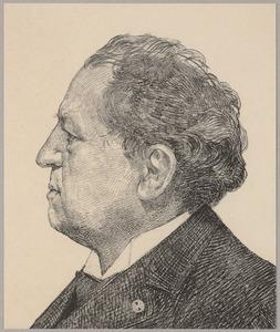 Portret van Abraham Kuyper (1837-1920)