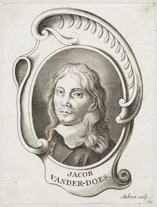Portret van Jacob van der Does (1623-1673)