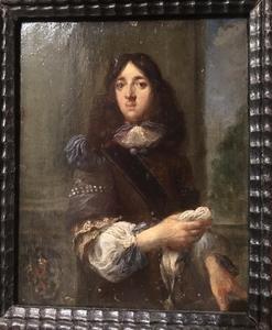 Portret van een man in borstharnas