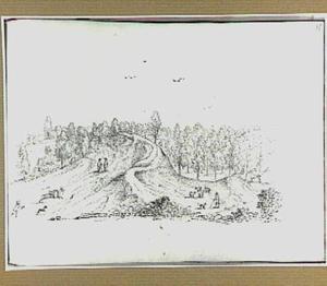 Boomrijk heuvellandschap