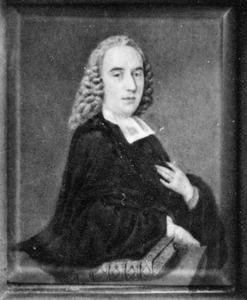 Portret van Wilhelmus Wilhelmius (1720-1771)
