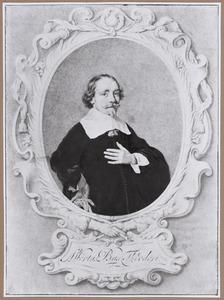 Portret van Albert Dircksz. Bas (1598-1650)