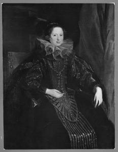Portret van een onbekende Genuese vrouw