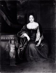 Portret van Anna Sophia Frisia van der Capellen (1639-1696)