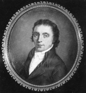 Portret van Arie Lamme (1748-1801), vader van de kunstenares