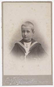 Portret van Willem van Tets (1894- )