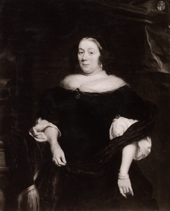 Portret van Alexandrina Kriex (1638-1701)