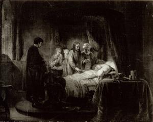 De opwekking van Jaïrus dochter (Mattheüs 9:18-25)