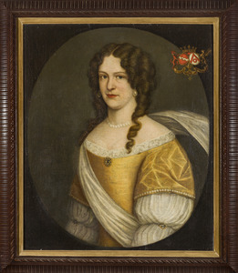 Portret van Georgia Walburgis van Steenhuys (1659-1711)