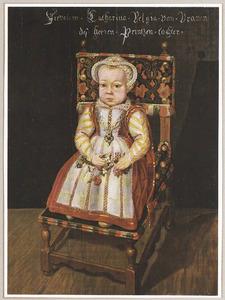 Portret van Catharina Belgica van Oranje-Nassau (1578-1648)