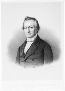 Portret van Joost Halbertsma (1789-1869)