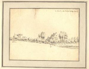Landschap met gezicht op Velp (gemeente Grave)