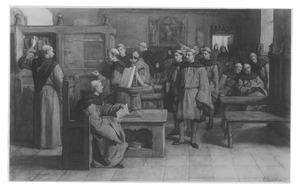 Geert Groote en zijn leerlingen