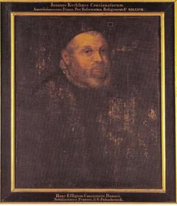 Portret van Johannes Cuchlinus (1546-1606)