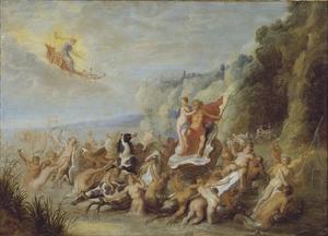 Neptunus en Amfitrite