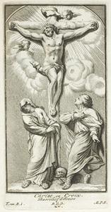 De kruisiging met Maria en Johannes de Evangelist (pl. XV)