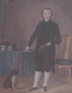 Portret van waarschijnlijk Pieter Antony Olifiers