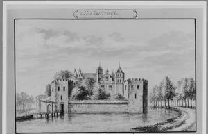 Voorzijde van Oosterwijk bij Leerdam