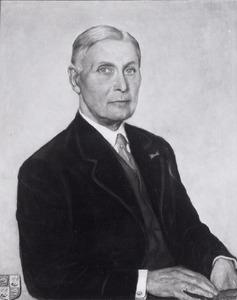 Portret van Duco Gerrold Rengers Hora Siccama (1876-1962)