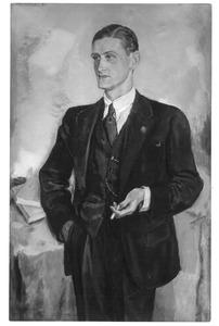 Portret van Albert van Abbe (1910-1984)