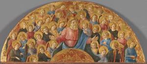 God de Vader met engelen