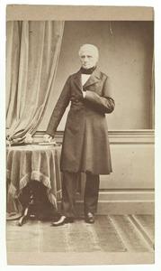 Portret van Jean Zacharie Mazel (1892-1884)