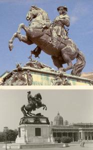 Monument voor Prins Eugène van Savoie Soissons