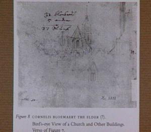 Gezicht op de kerk van S. Theodore en van de Carthuisers in Basel